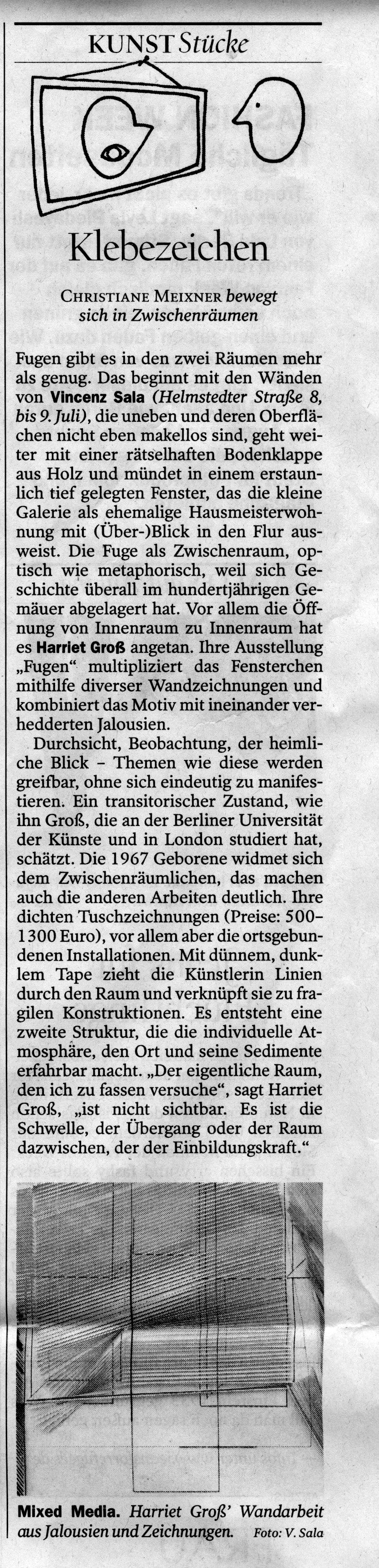 Tagesspiegel Fugen Vincenz Sala 02